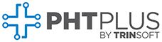 PHTPlus logo, Business software for plating, heat treating, and surface finishing